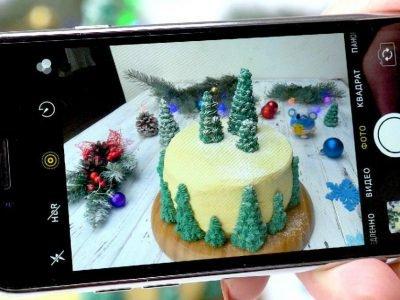 Как приготовить ванильный торт «Заснеженный лес»