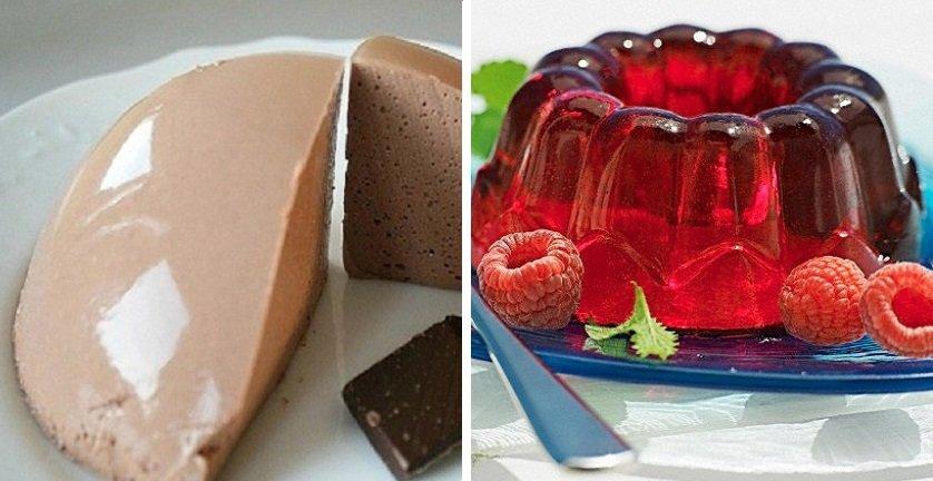 желейные десерты