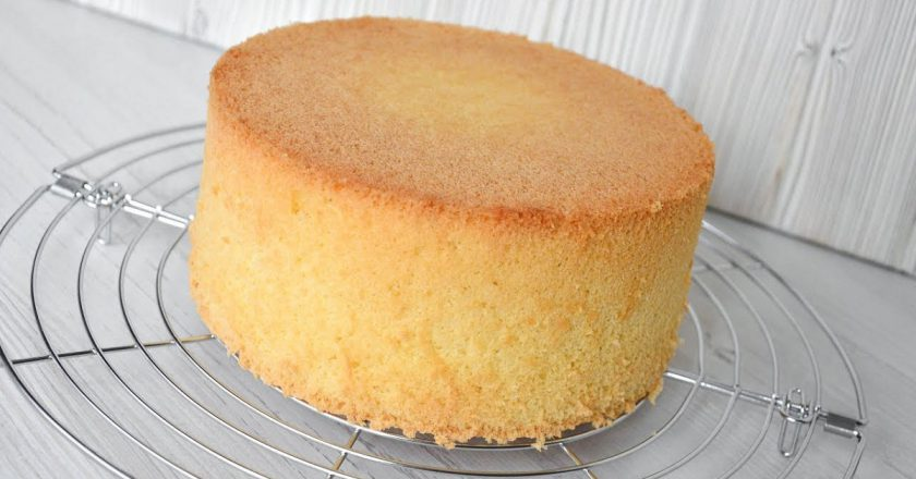 как приготовить вкусный бисквит