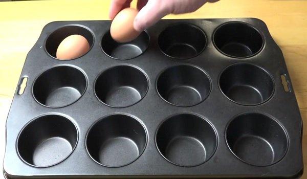 как приготовить яйца в духовке