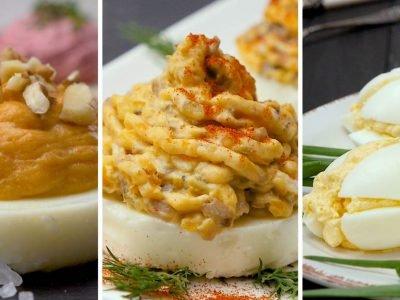 Как приготовить яичные закуски