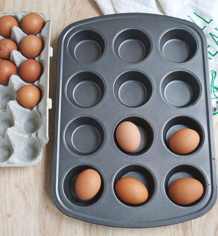 яйца в духовке