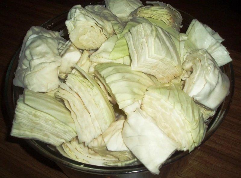 как нарезать капусту