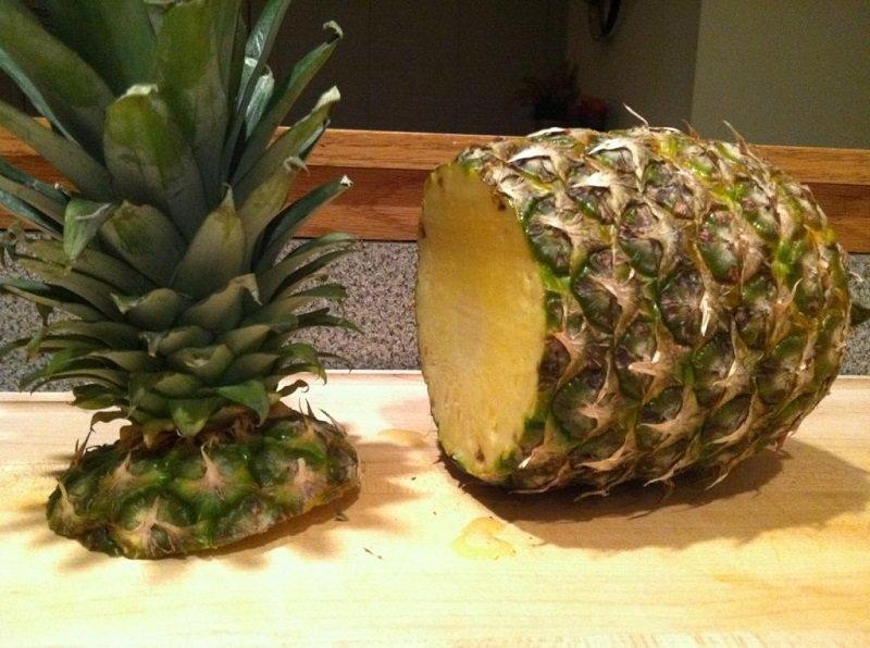как сделать ананас сладким