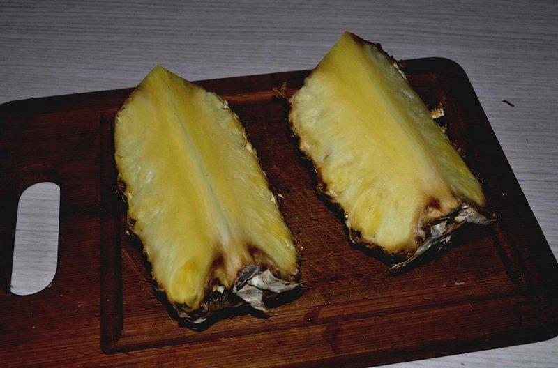 рецепт с ананасом
