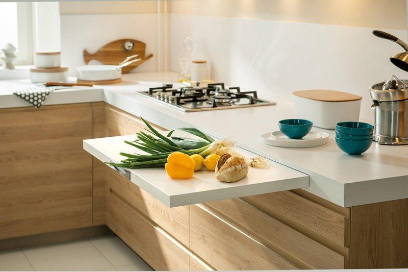 как сделать кухню просторной