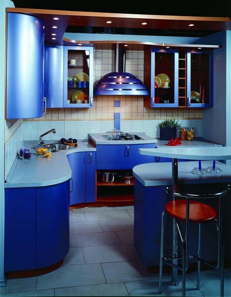 Как сделать маленькую кухню удобней