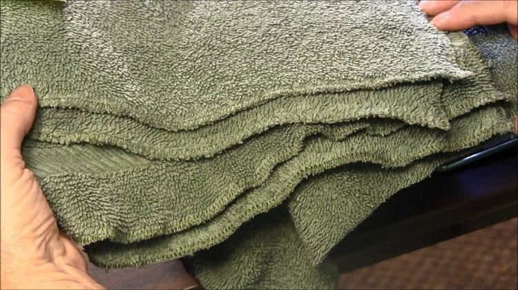 как сделать полотенца мягкими