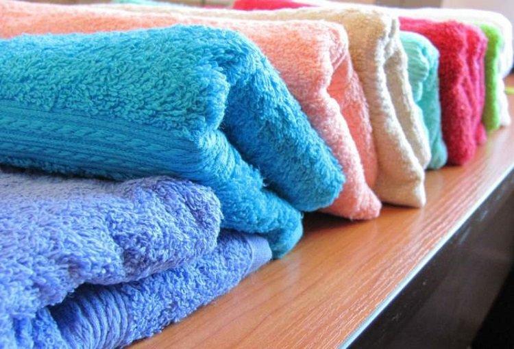стирка махровых полотенец