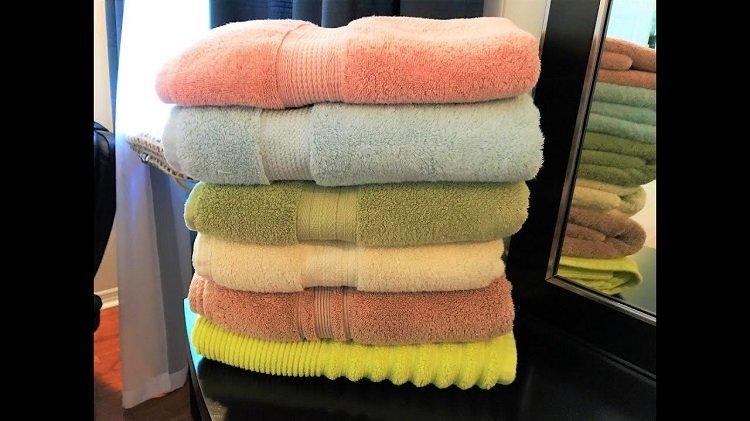 мягкие махровые полотенца