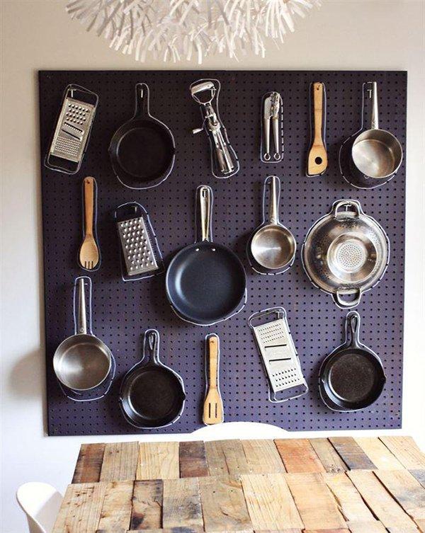 стенд для посуды фото