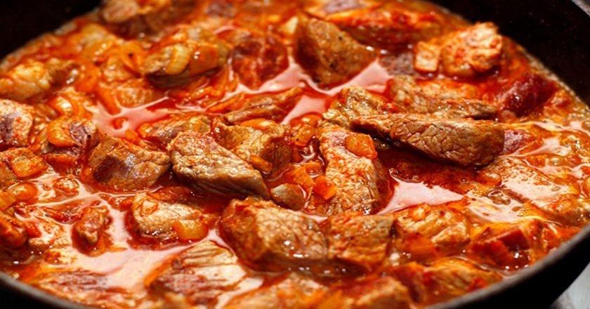 Блюда из мяса пошагово