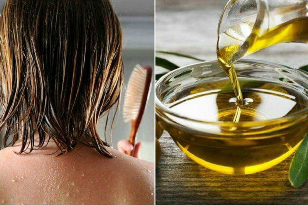 использование масла для волос