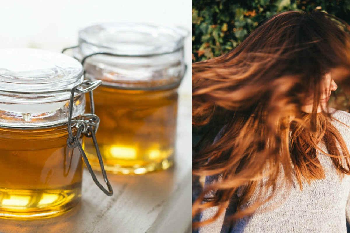 мёд для волос