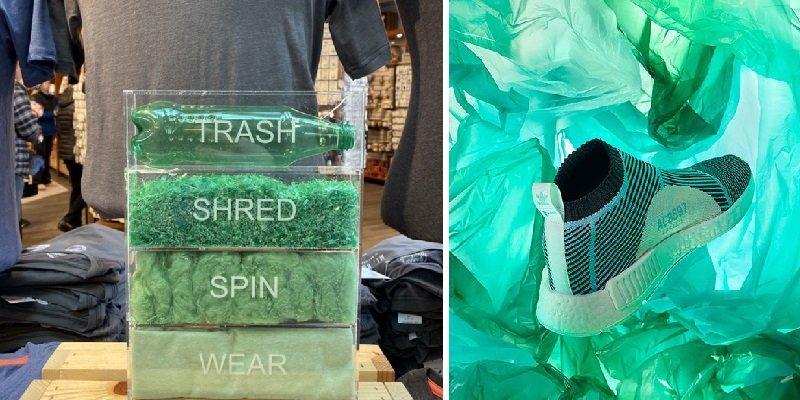 одежда из переработанного пластика
