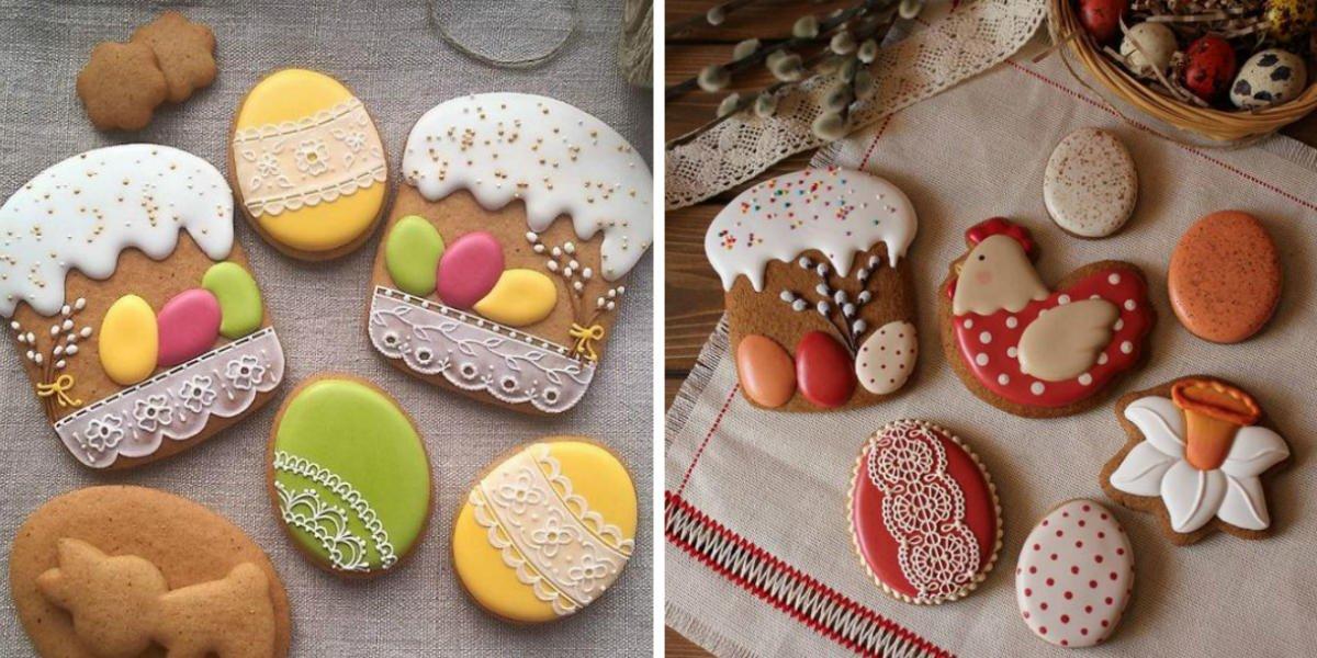 разрисованное печенье