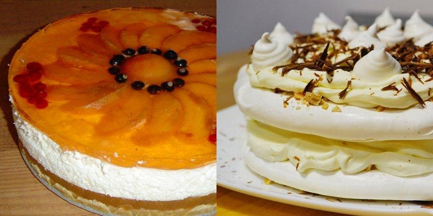 как украсить торт с помощью безе