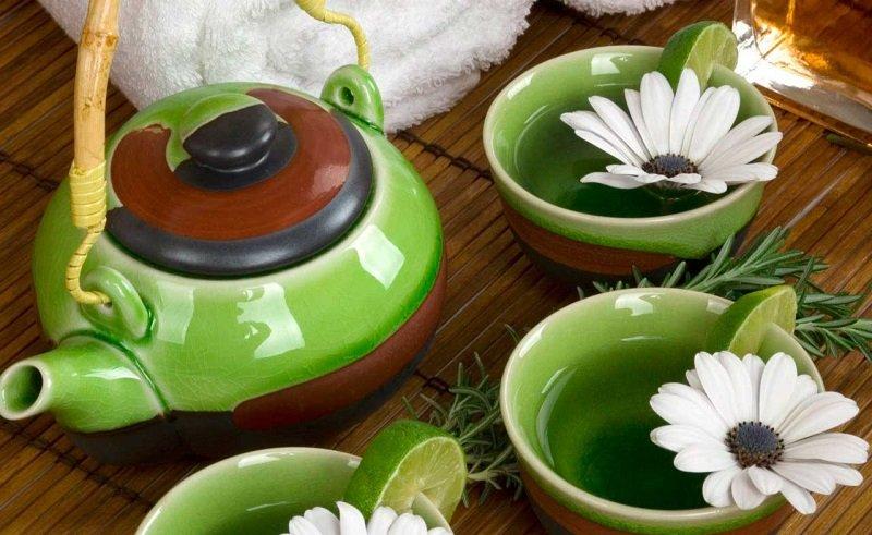 зеленый чай для памяти