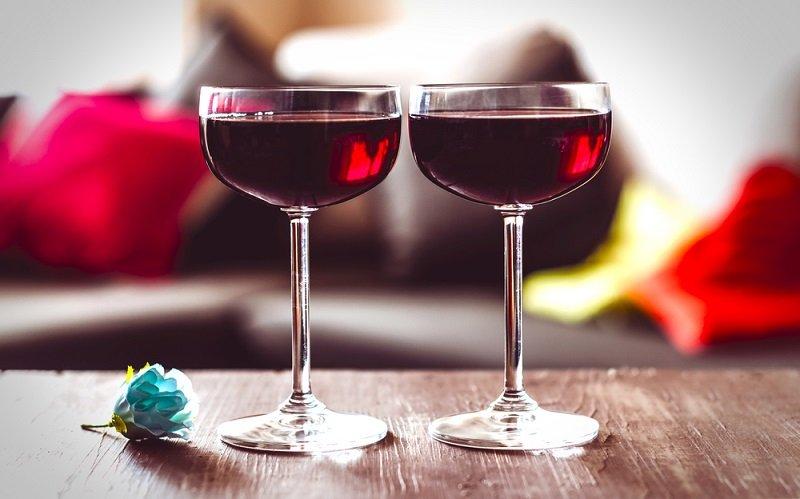 польза красного вина для зрения