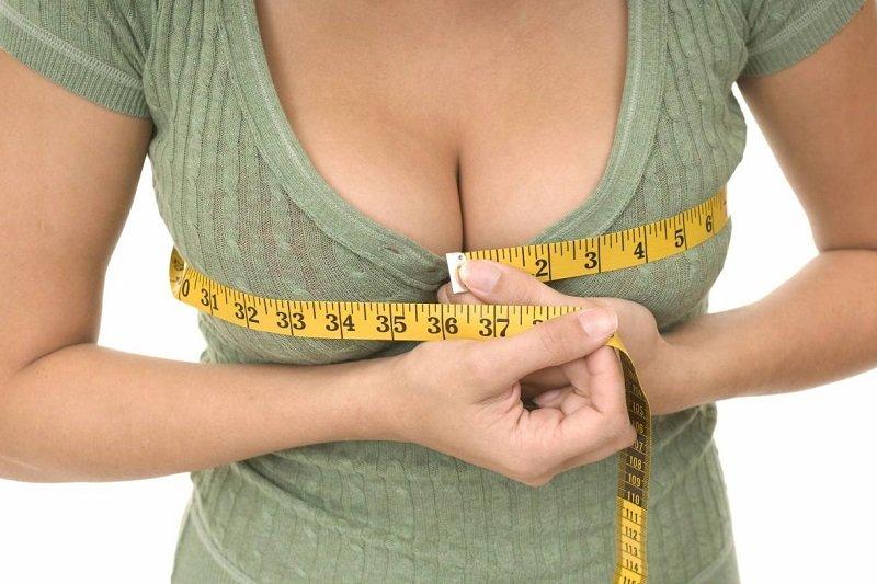 объем груди