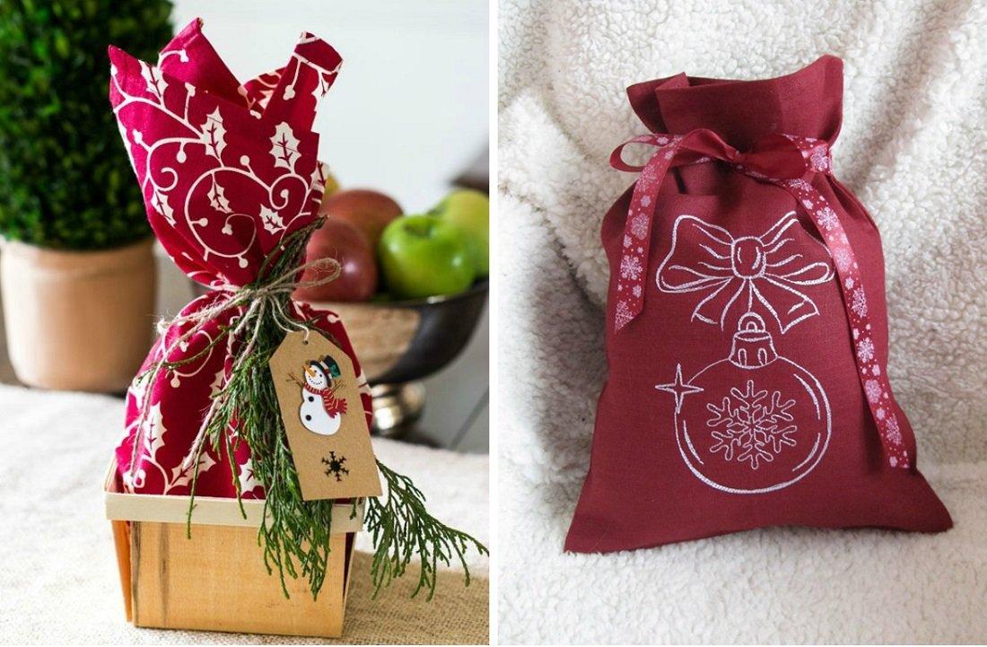 подарки в мешочке