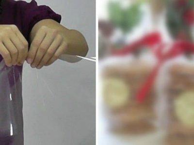 Как упаковать конфеты на Новый год