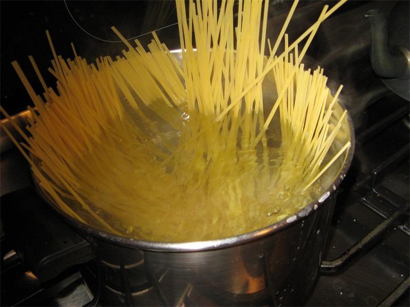 как варить макароны для чайников