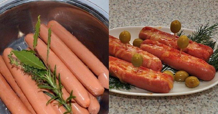 Как варить сосиски