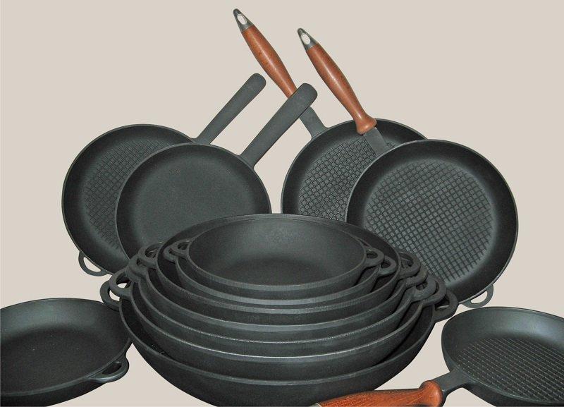 как хранить чугунную посуду