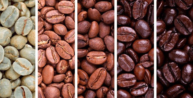 прожарка кофейных зерен