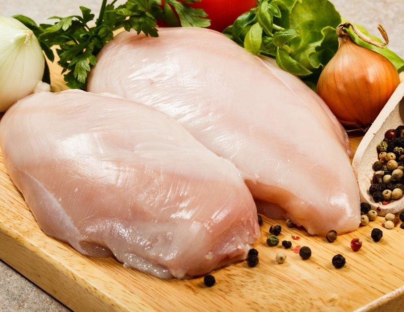 Как приготовить куриное белое мясо