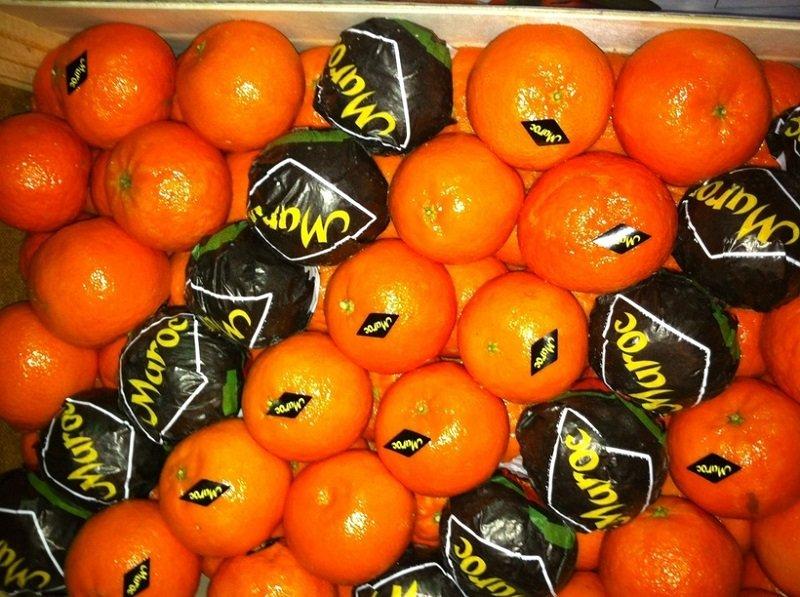 мандарины из марокко изображение