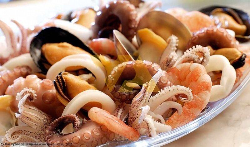 Правильный выбор морепродуктов