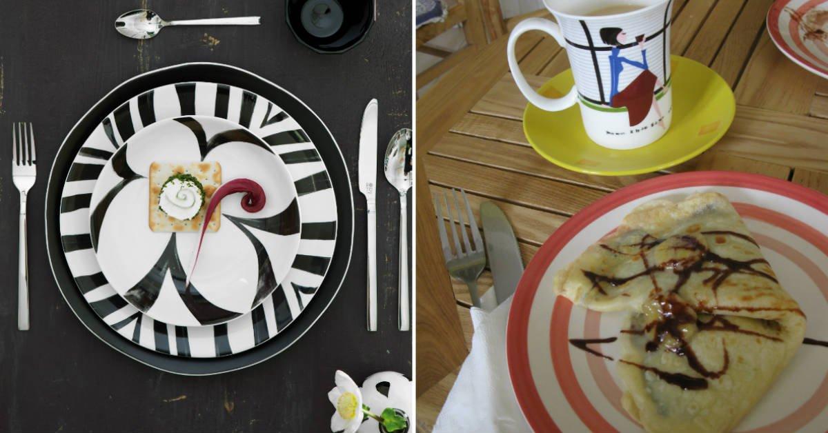 стильная посуда