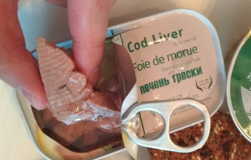 Как хранить печень трески