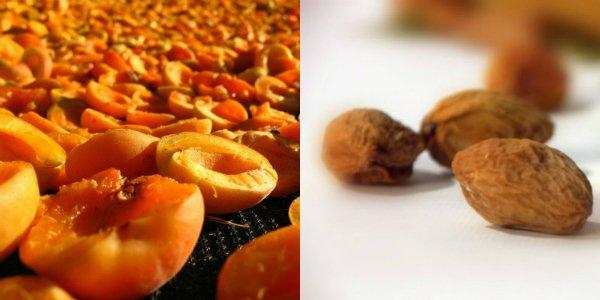 как сушат абрикосы