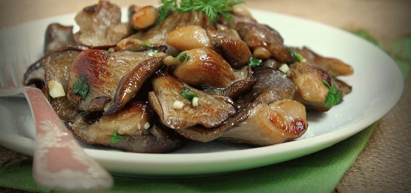 фото смажених грибів