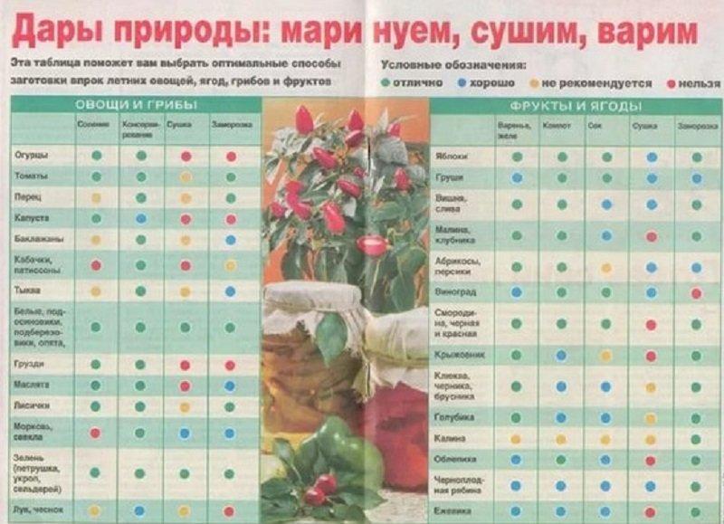 как закрывать овощи на зиму