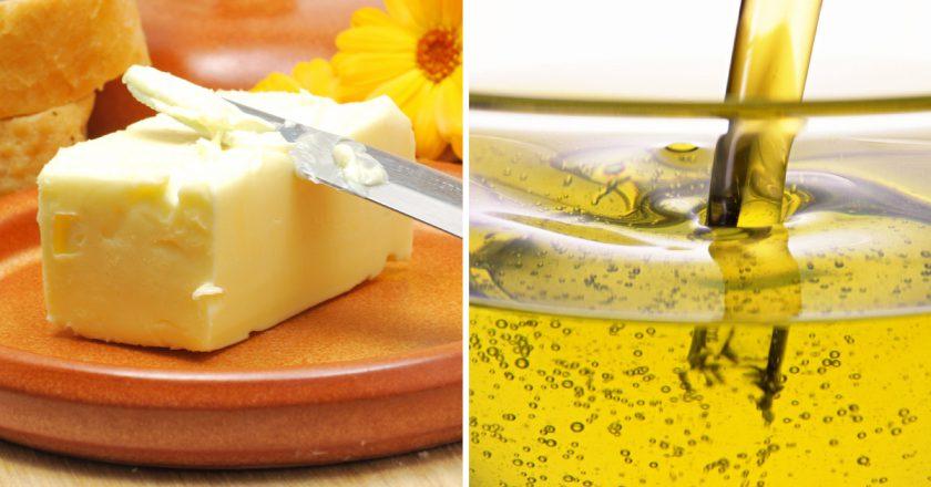 Как заменить сливочное масло растительным