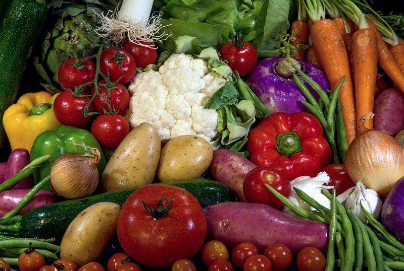 вкусные овощи в духовке