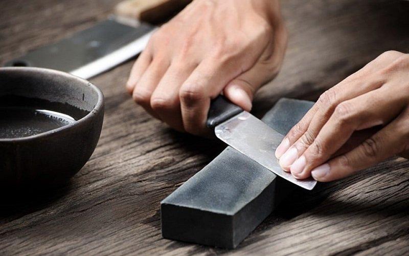 как самостоятельно заточить ножи