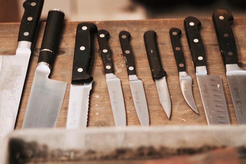 как заточить ножи в доме