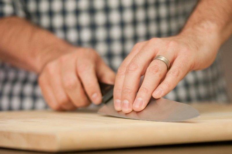как заточить домашние ножи