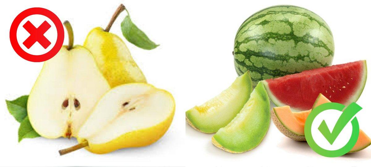 фрукты и похудение