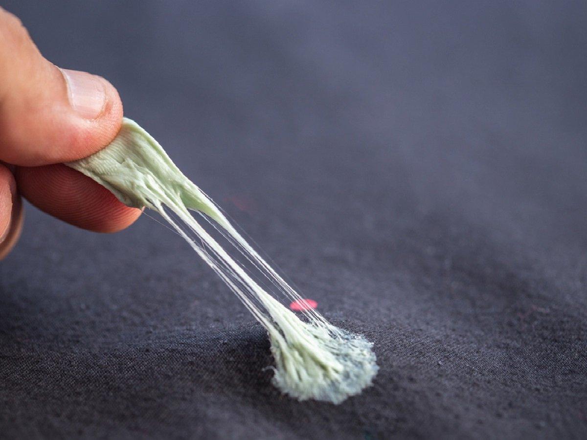 как убрать жвачку