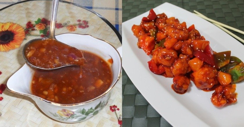 Кисло-сладкий соус в домашних условиях