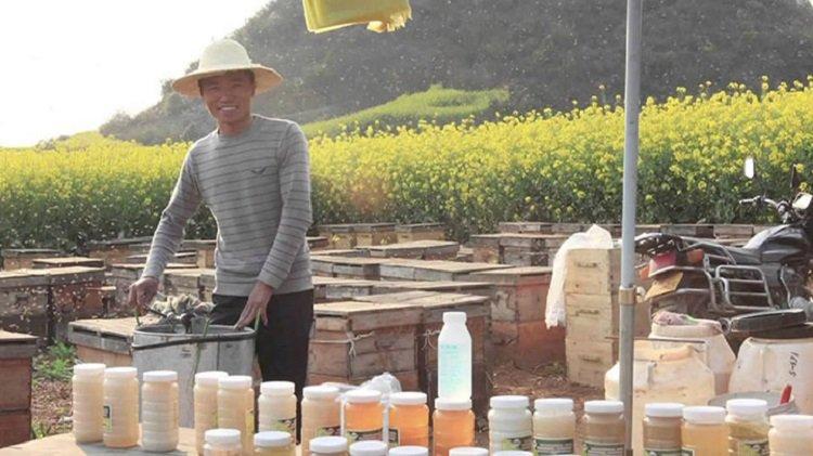 китайская подделка мёда