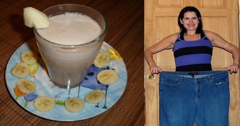 банановый коктейль для похудения