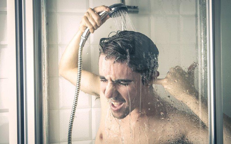 утренний контрастный душ