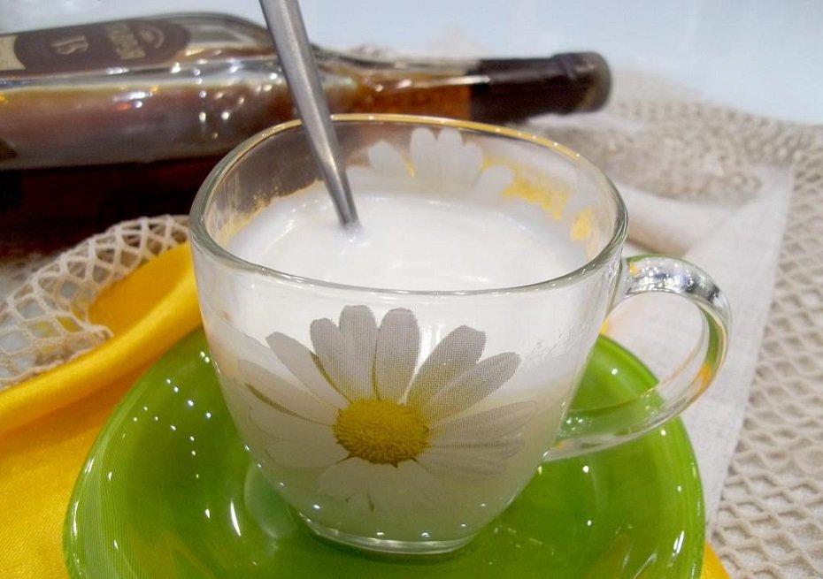 Коньяк с молоком